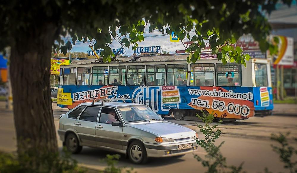Tram in Atsjinsk