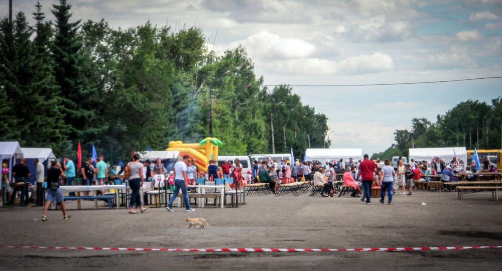 Feest in Redkaja Doebrava