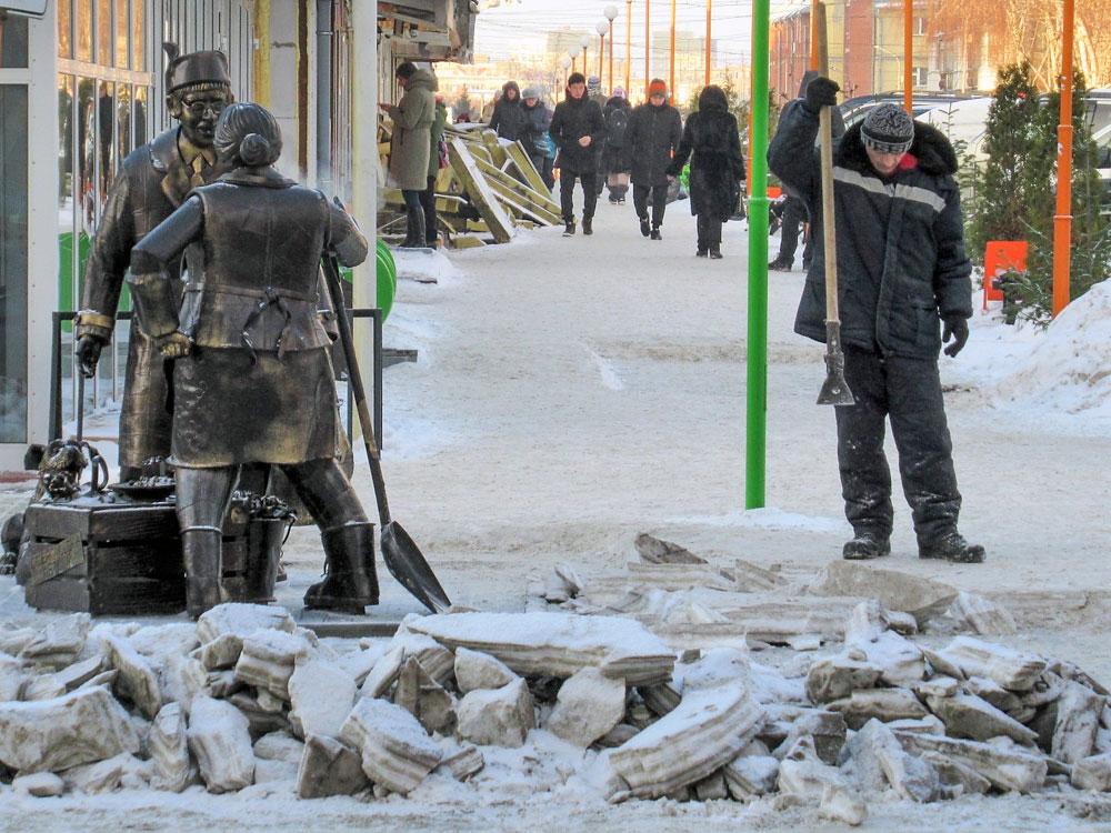 Centrale markt, Novosibirsk