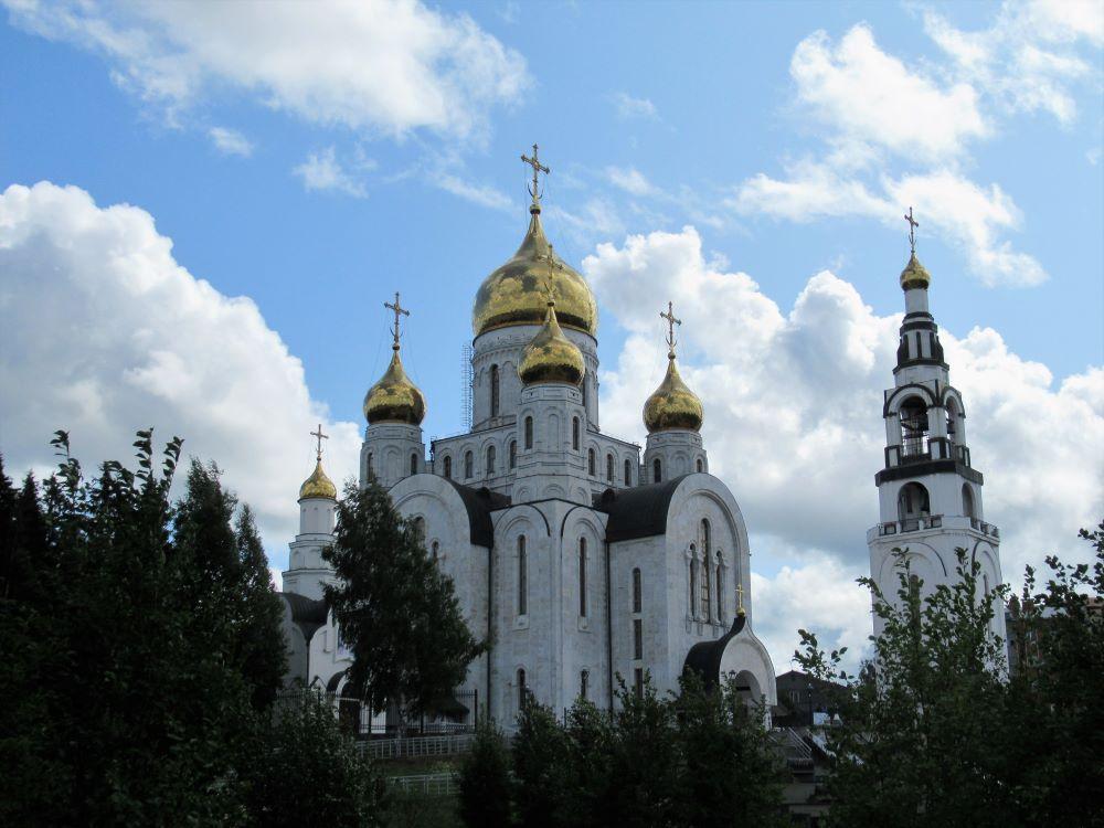 Kathedraal van Christus' wederopstanding te Chanty-Mansiejsk