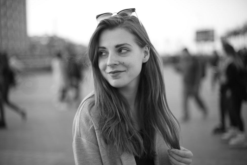 Marta Klinova: 'Ik denk dat er geen weg terug is. Als we nu ophouden, dan worden de repressies alleen nog maar erger.' Foto: © Privéarchief Marta Klinova