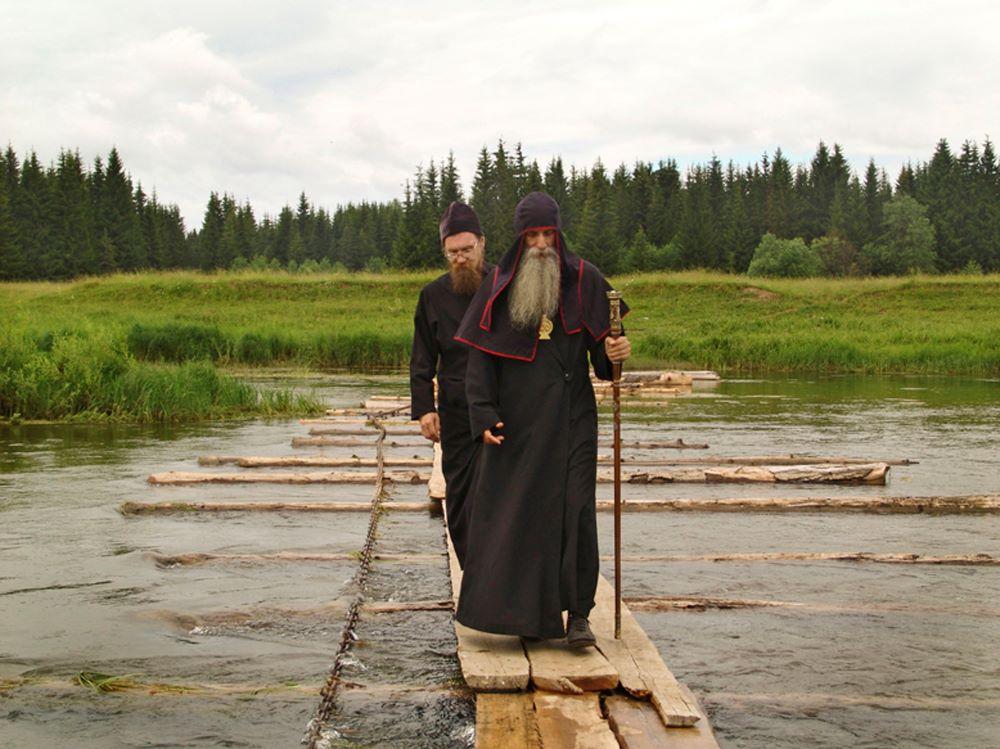 Over de rivier Sylva - fotograaf Aleksej Lopatin