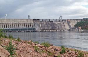Stuwdam van Krasnojarsk