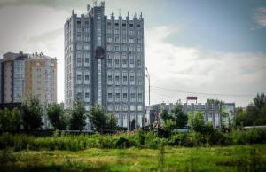 Staatsgebouw in Atsjinsk