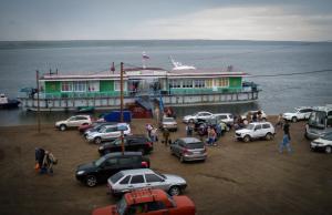 Aanlegplaats Jenisejsk