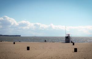 Strand aan de Obse Zee