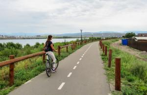 Langs het fietspad, Kyzyl