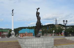 Afscheid van Chanty-Mansiejsk