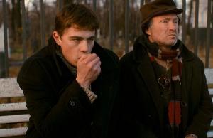 """Sergej Bodrov en Joeri Koeznetsov in """"Broer"""" (1997)"""