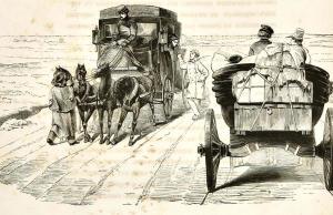 Afbeelding uit de Russische editie van 'Tarantas' (1845)