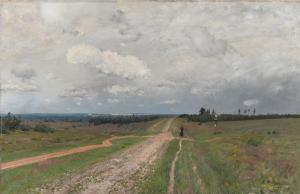 Isaac Levitan, Vladimirka (1892) – Tretjakovgalerij