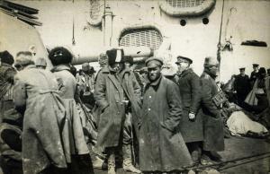 Vlucht van het Witte leger uit de Krim