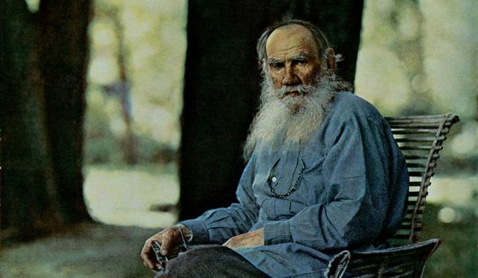 Lev Tolstoj. Foto: S.M. Prokoedin-Gorski, 1908