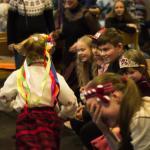 Kerstfeest van de Russische cultuurschool