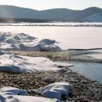 Stromend water in de winter?