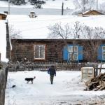In het dorp
