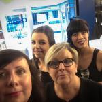 Tatiana en haar team (v.l.n.r.): Queenie Maertens, Nadine Vandevoorde, Melanie Vanelslander © Ciseaux