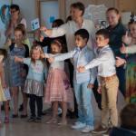 'In onze school gaat het zo zijn!' Een dansflashmob met de choreografe Nataliia Rudenko